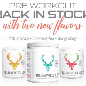 Bumped Up New Preworkout Flavors!