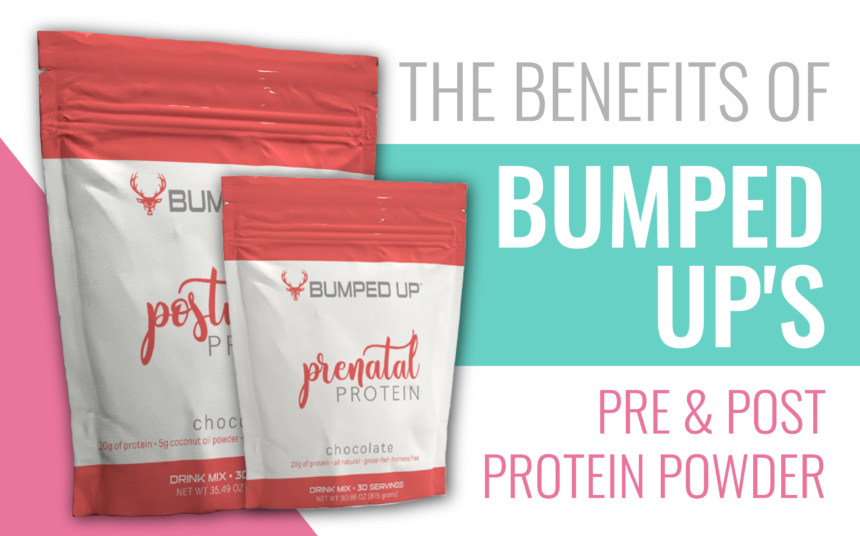 BENEFITS OF BUMPED UP'S PRE & POST PROTEIN